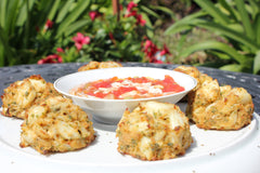 Crab Cake and Soup Combo