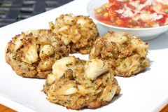 Gluten Free Crab Cakes & Maryland Red Crab Soup Combo