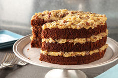 Smith Island Cake - German Chocolate