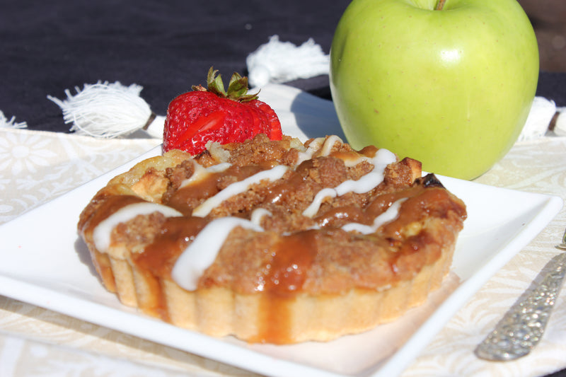 Caramel Apple Streusel