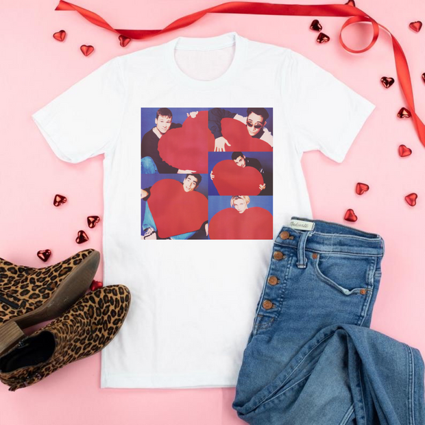 Backstreet Boys Valentine Graphic Tee