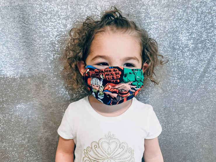Marvel Face Mask (CHILD SIZE)