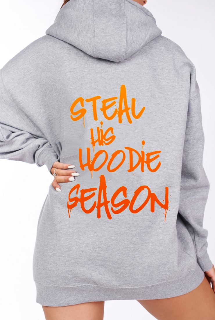 Steal His Hoodie Season Hoodie (Orange Ombré)