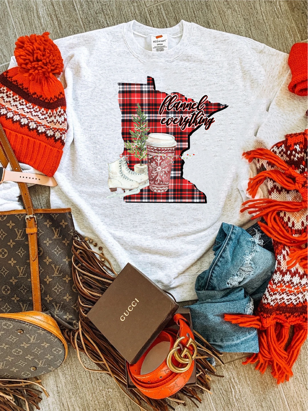 MN Flannel Everything Sweatshirt