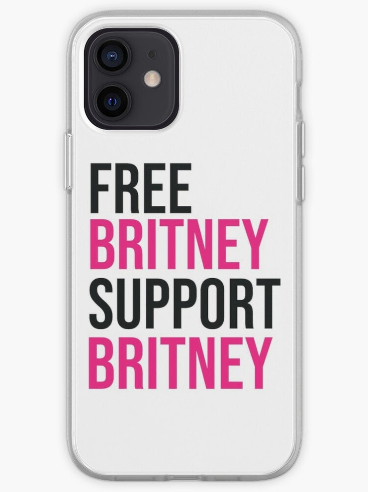 Free Britney Support Britney iPhone Case