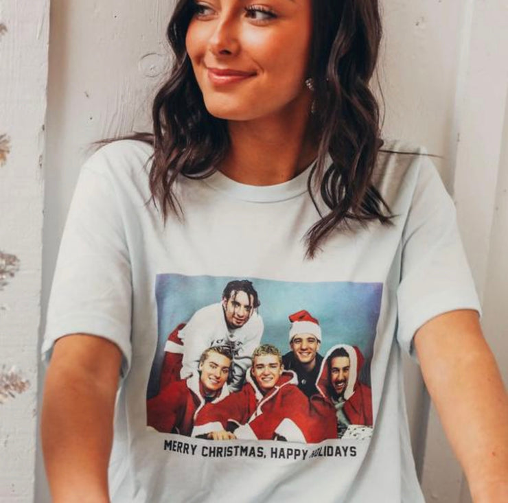*NSYNC Happy Holidays Graphic Tee