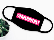 Free Britney Face Mask (Hot Pink)