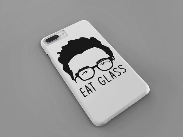 Eat Glass iPhone Case