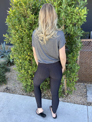 TikTok Pocket Leggings (Black)