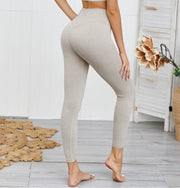 OBVIOUS CHEMISTRY RIBBED TWO PIECE SET (TAUPE)