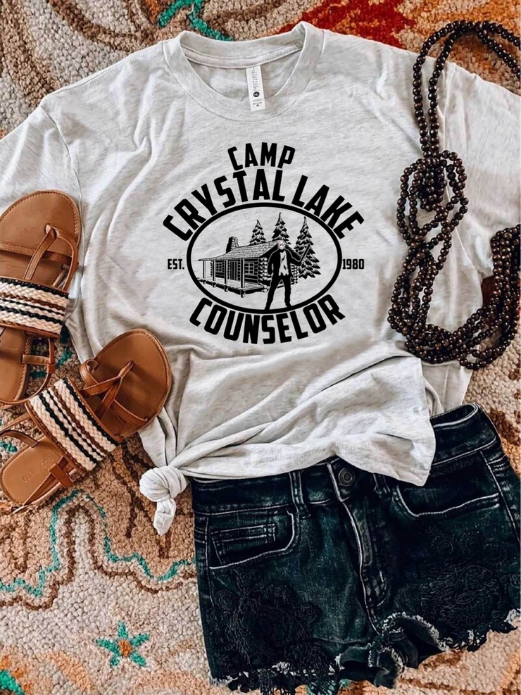 Camp Crystal Lake Graphic Tee