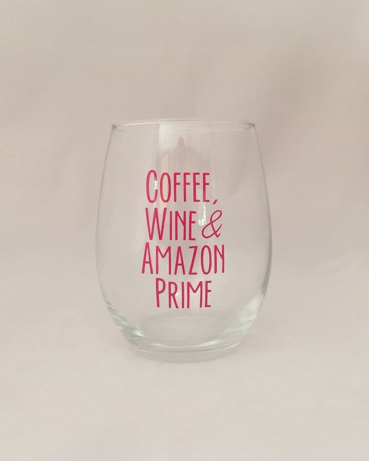 Coffee Wine Amazon Prime Wine Glass