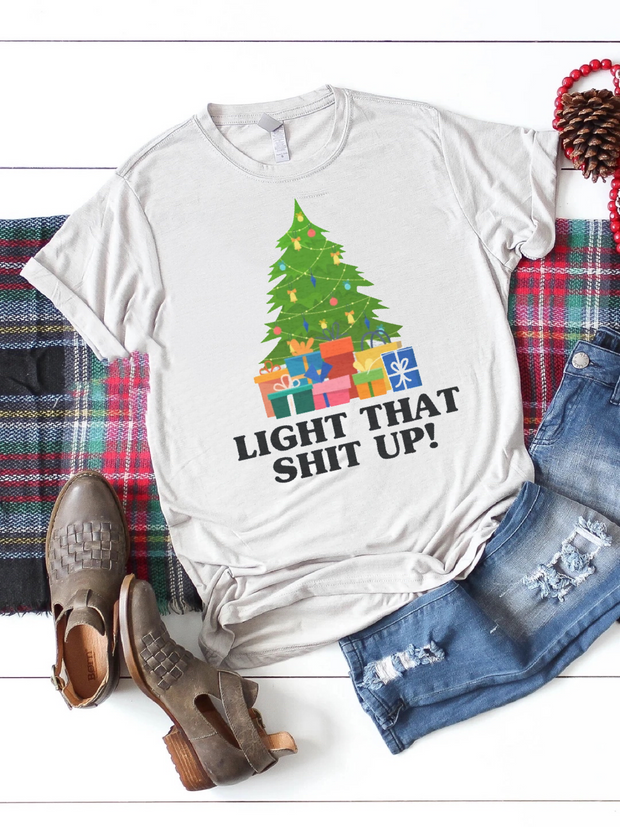 Light Up Graphic Tee