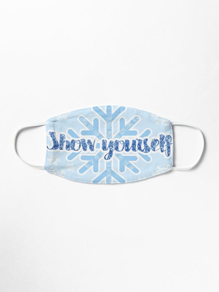 Show Yourself Frozen Face Mask (Childs size)