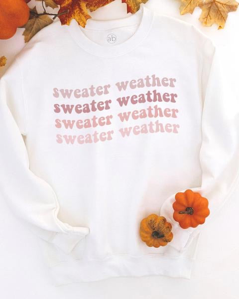 Sweater Weather Sweatshirt (Ombré)