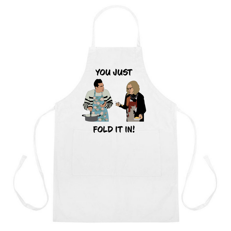 Just Fold It In Apron