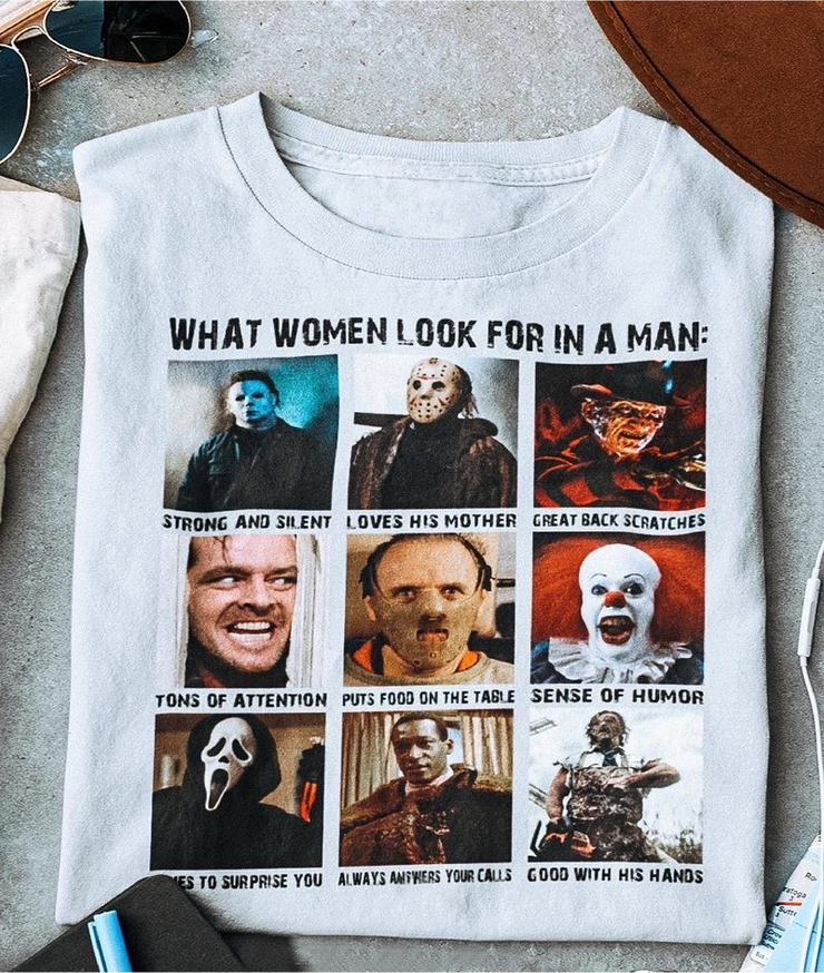 What Women Look For In A Man Graphic Tee