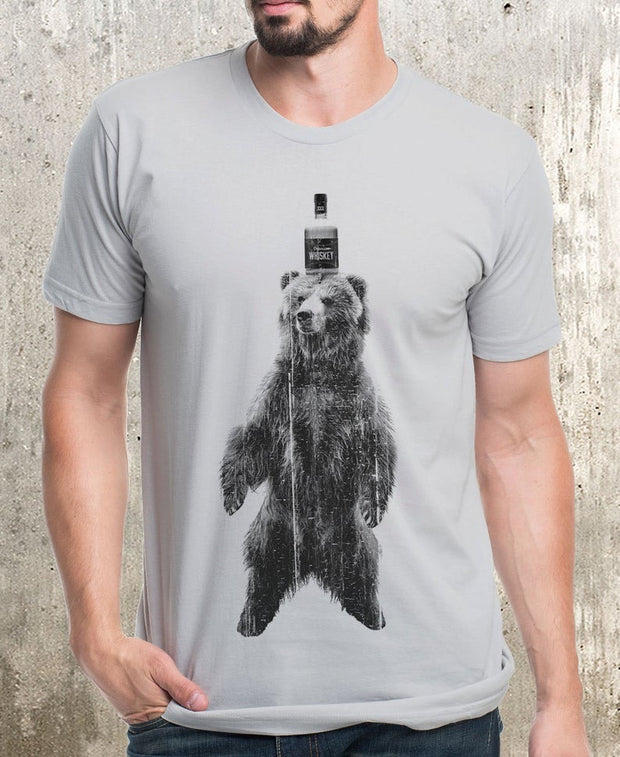 Whiskey Bear Graphic Tee