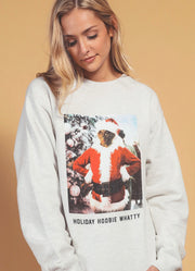 Holiday Hoobie Whatty Sweatshirt