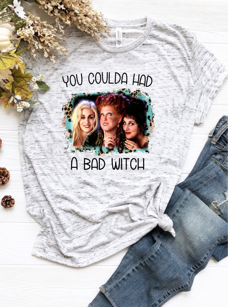 You coulda had a bad witch graphic tee