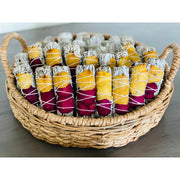White Sage w/ Dried Rose Petals Smudge Stick