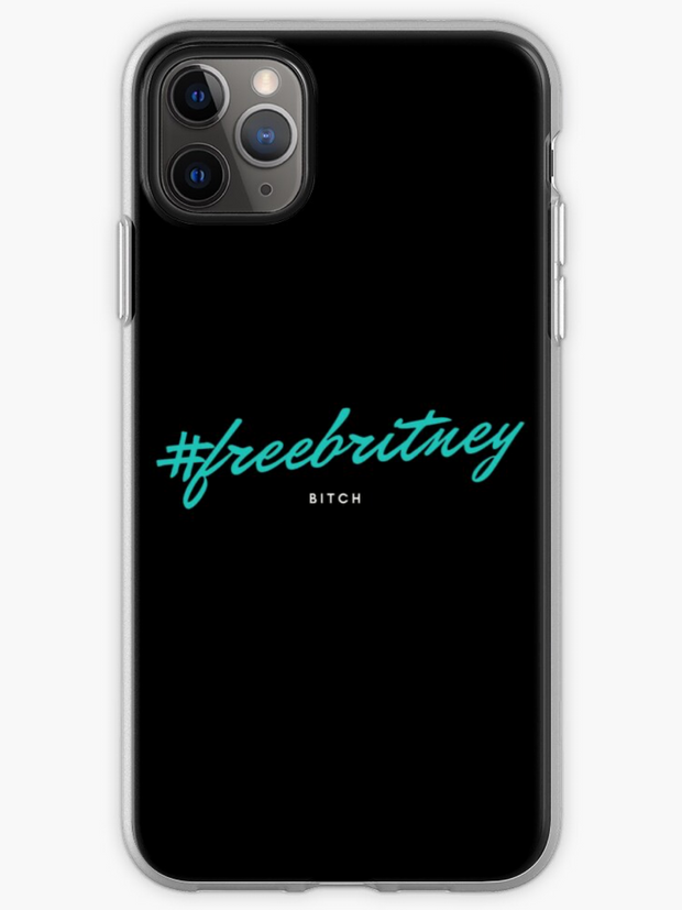 Free Britney B*tch iPhone Case