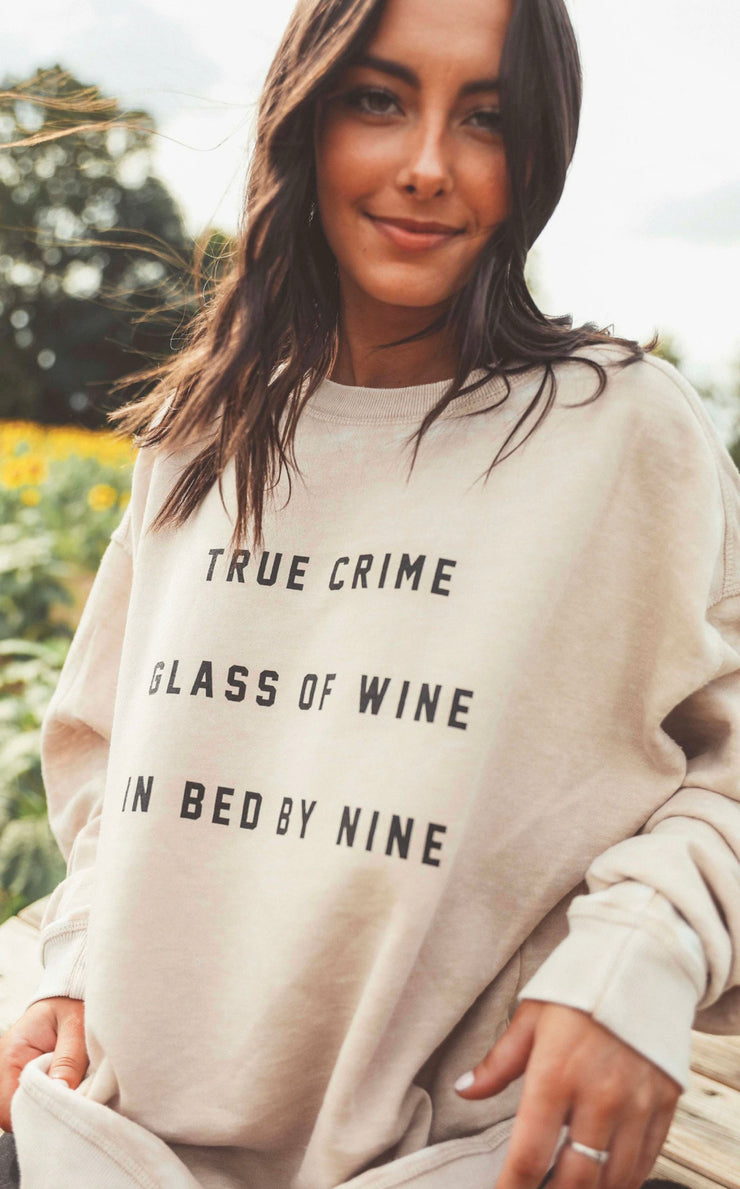 True Crime Sweatshirt