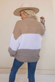 FALL FOR YOU TURTLENECK SWEATER (MULTI)