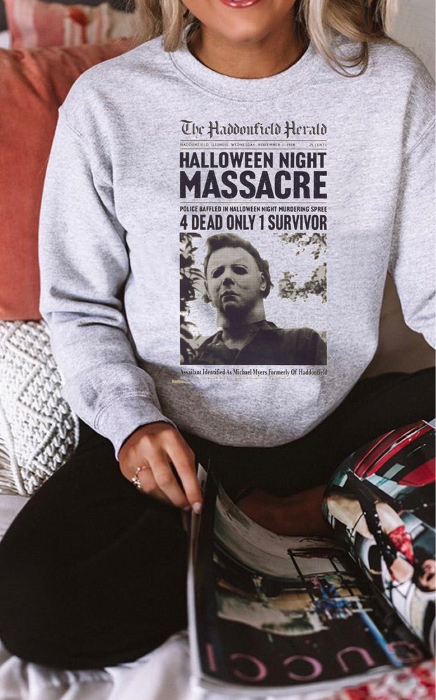 Halloween Massacre Sweatshirt