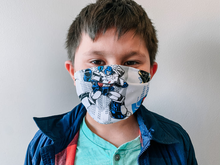Transformers Face Mask (CHILDS SIZE)