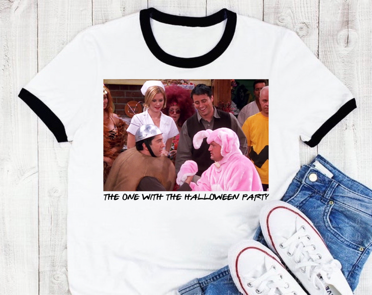 The One With The Halloween Party Graphic Tee