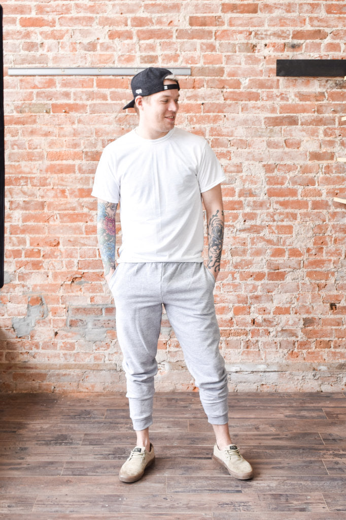 Justin Joggers (Heather Grey)