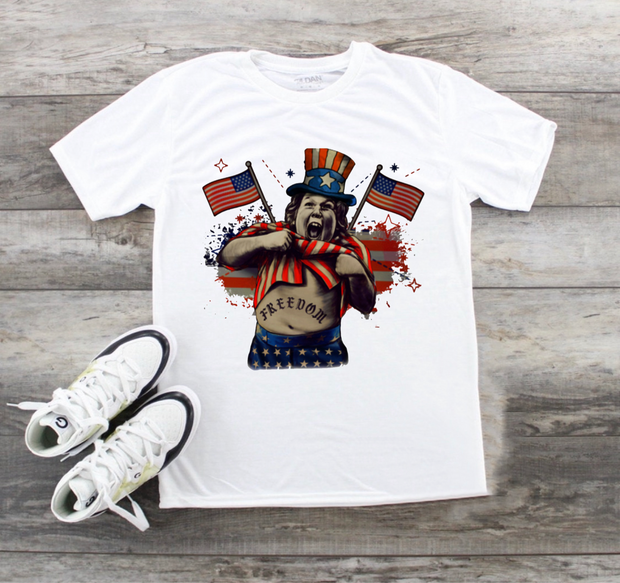 Independence Chunk Graphic Tee