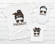 LV Mom Life Graphic Tee