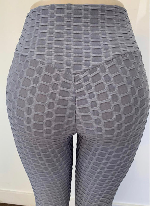 TikTok Pocket Leggings (Ash Blue)