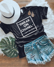 Swear On Chanel Graphic Tee