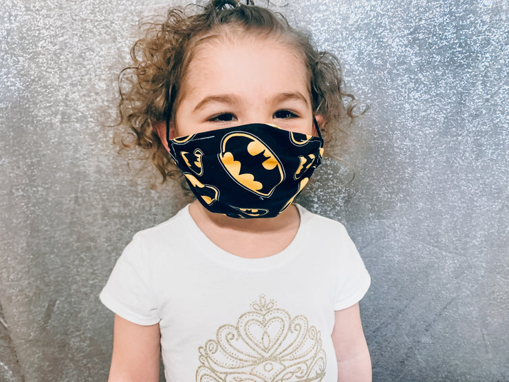 Batman Face Mask (CHILD SIZE)