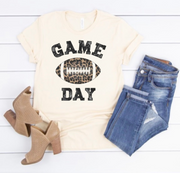 Game Day Graphic Tee (Leopard)
