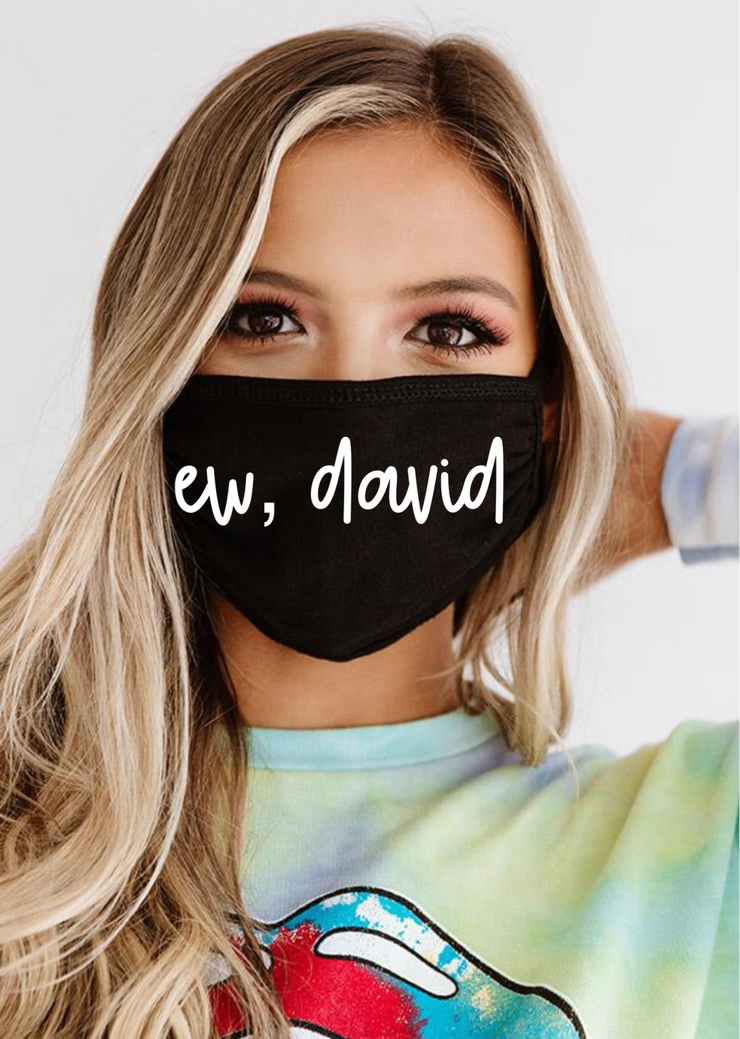 Ew David Face Mask (Black)