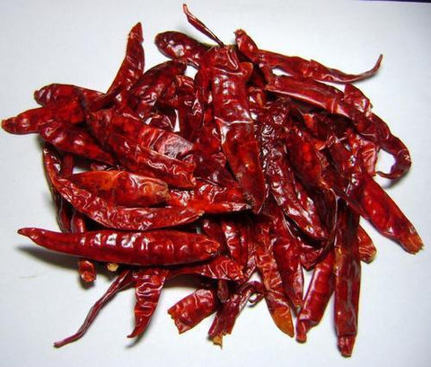 Red Chillies Whole | Chilli Spices | Indian Spices | Hot Spices