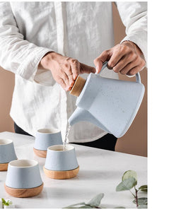 Nordic Porcelain - Minimal Tea Set