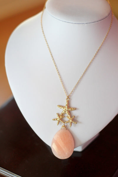 Starfish Rock Necklace