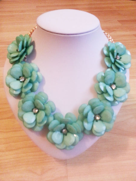 Oversized Flower Necklace