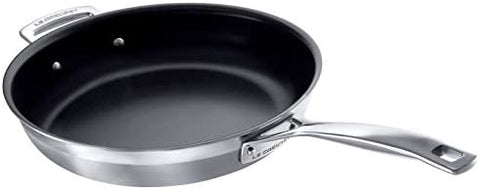 LE CREUSET - 3-PLY STAINLESS STEEL NON-STICK FRYING PAN 28CM