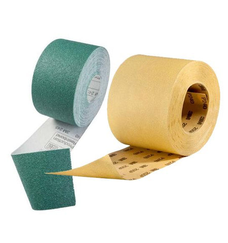3M 255P Hookit Gold Roll 75mm x 25m - P180