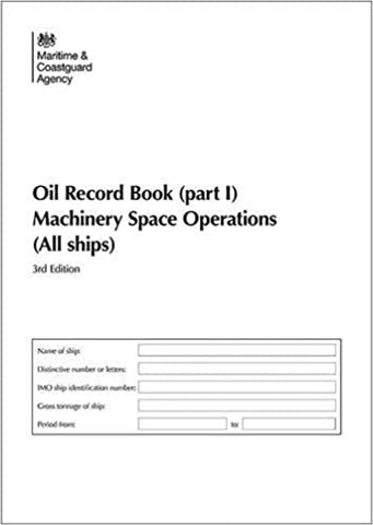 MCA Oil Record Book Part 1