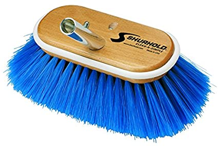 "Shurhold 10"" Large Brush Head - Extra Soft - Blue"