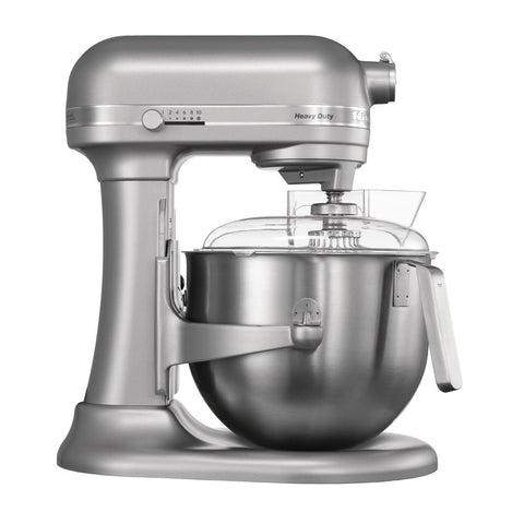 Kitchen Aid Heavy Duty Food Mixer 5L 230v 325w 2 Pin Plug  - inc whisk, flat beater, dough hook,stainless steel bowl