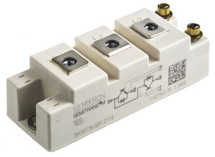 Semikron Trans IGBT Module N-CH 1200V 400A 7-Pin Case D-56 (For ShorPower Converter)