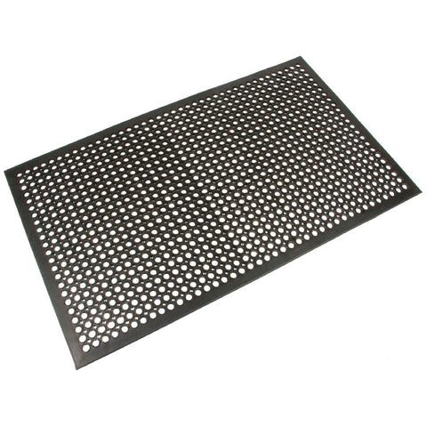 Coba Rubber Anti- Fatigue Mat - Black 1200(W)x 800(L)mm